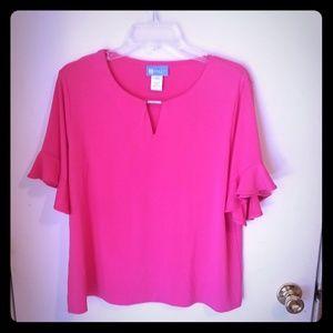 4for$25 Koret pink blouse